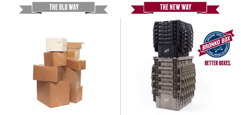 Cardboard vs. Bronko Box