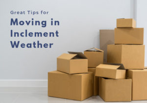 Great Tips for Moving in Inclement Weather